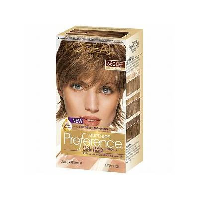 L'Oreal Paris Superior Preference Permanent Hair Color, Lightest Golden Brown 6 1/2G 1.0 ea(pack of 2)
