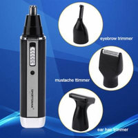 Otolary Nose 4 In 1 Personal Waterproof Rechargeable Electric Men Ear Nose Trimmer Machine Black