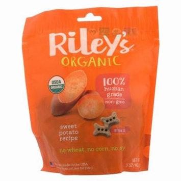 Riley's Organics Riley's Organic Treats - Sweet Potato - Pack of 5 - 5 Oz.