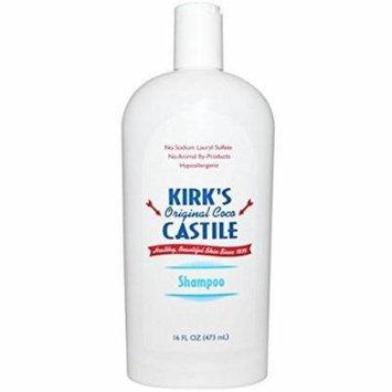 kirk's natural kirk's natural shampoo coco castile 16 oz