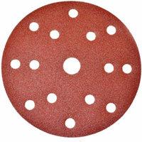 ALEKO 240 Grit With 15 Holes 5 Pieces Sandpaper Discs, 6