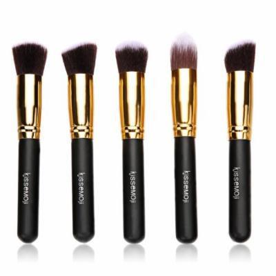 Kimimart 5 PCS x Makeup Brushes Set Cosmetics Foundation Brush Makeup Brush Set
