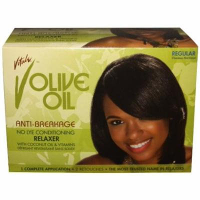 VITALE Olive Oil Sensitive Scalp No-Lye Relaxer Kit, 1 ea