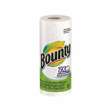 Procter & Gamble 2486017 Paper Towel Reg Roll, White - 44 Count