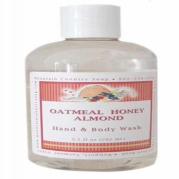 Oatmeal Honey Almond Aromatherapy Hand & Body Wash - 9.5 oz