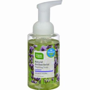Cleanwell All-natural Antibacterial Foaming Hand Wash Lavender Absolute - 9.5 Fl Oz