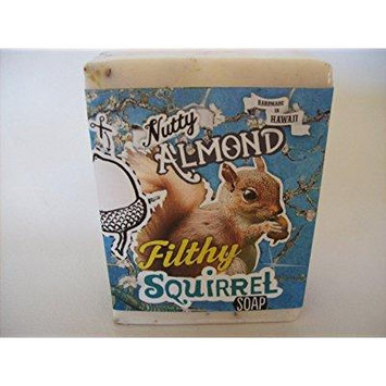 filthy squirrel all natural glycerin bar soap almond coconut by filthy farmgirl