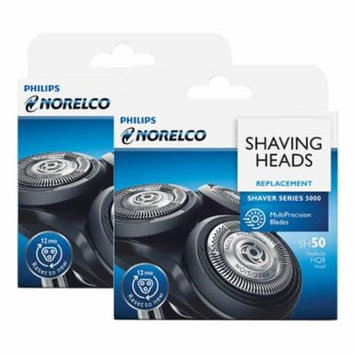 Replacement Heads For Norelco SH50/52 Compatible With PT724 / S5320 Models (2 Pk)