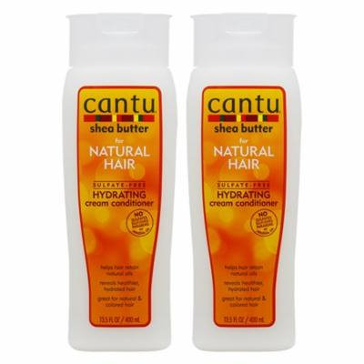 """Cantu Shea Butter Hydrating Cream Conditioner 13.5oz """"Pack of 2"""""""