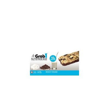 Grab1 Kosher Nutrition Bar 10g Protein Rocky Road Dairy Cholov Yisroel - 20 Bars