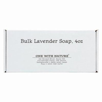 One With Nature Bar Soap - Lavender - Pack of 24 - 4 Oz.