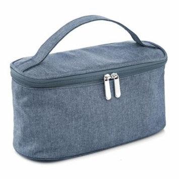 lesac large cosmetic bag with mirror travel toiletry bag makeup bag
