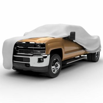 Budge Protector V Truck Cover, Waterproof Outdoor Vehicle Protection, 5 Layer, Size T-2X: Fits up to 210