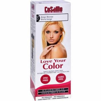 Love Your Color HG1578004 Hair Color Cosamo Non Permanent, Beige Blonde - 1 Count