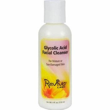 Reviva Labs HG0831040 4 fl oz Glycolic Acid Facial Cleanser