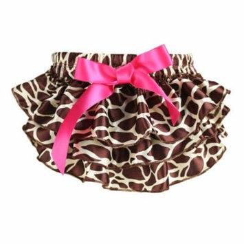 Baby Diaper Cover, Coxeer Newborn Baby Cute Floral Diaper Cover Tutu Skirt (Leopard, L)