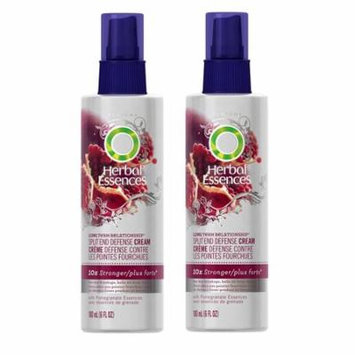 Herbal Essences Split End Defense Cream with Pomegranate Essences, 6 Oz (Pack of 2)