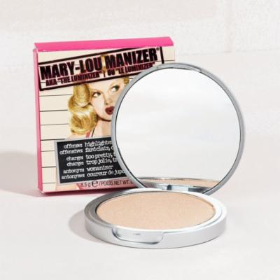 Mary Lou Manizer Highlighting Powder Luminizer Shimmer Compact