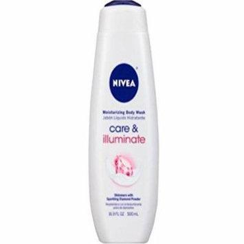 Nivea Care & Illuminate Moisturizing Body Wash - 16.9 oz