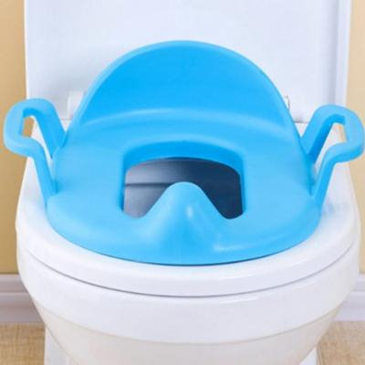 Comfortable Thickened Children Potty Chair PP Material Toilet Assistant Seat Potty / Sitting Chair