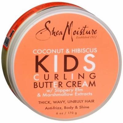 SheaMoisture Kids Curl Butter Cream Coconut & Hibiscus 6.0 oz.(pack of 6)