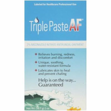 6 Pack - Triple Paste AF Antifungal Nitrate Medicated Ointment 2 oz