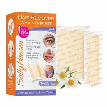 Sally Hansen Hair Remover Wax Strip Kit 1.0 box(pack of 1)