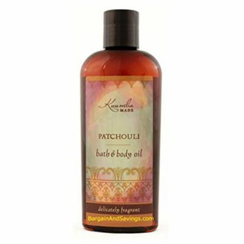 Kuumba Made Bath and Body Oil, Patchouli, 6 Ounce Regular Size Bottle