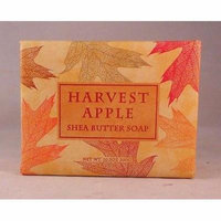 Greenwich Bay Shea Butter Luxury Spa Soap, Large 10.5 oz, Limited Fall Edition HARVEST APPLE