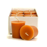 3 Boxes of Homemade Pumpkin Roll Votive Candles Votive Candles Pack: 12 per box 1.75 in. diameter x 2 in. tall