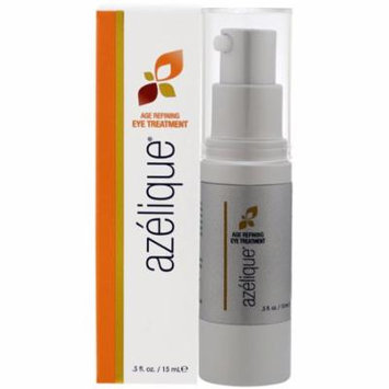 Azelique, Age Refining Eye Treatment, with Azelaic Acid, Rejuvenating and Hydrating, No Parabens, No Sulfates, .5 fl. oz. (pack of 1)