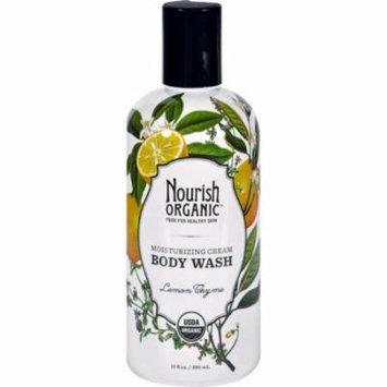 Nourish Body Wash - Organic - Lemon Thyme - 10 Fl Oz