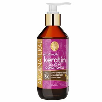 Arganatural Gold Pro Strength Keratin Leave-In Hair Styling Spray 8oz