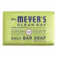 MrsMeyer's Clean Day 5.3 OZ Lemon Verbena Scent Daily Bar Soap Can Be 2PK