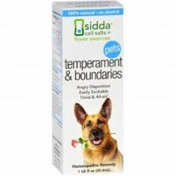 Siddha Flower Essences HG1557214 1 fl oz Temperment & Boundaries - Pets