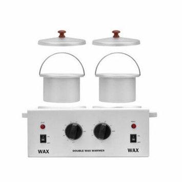 iMeshbean DOUBLE Wax Warmer Electric Heater Dual Hard Hot Facial Skin Equipment SPA