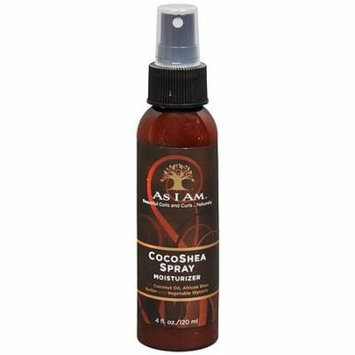 As I Am CocoShea Moisturizer Hair Spray 4.0 oz.(pack of 2)