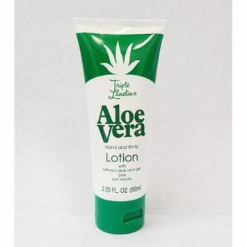 Triple Lanolin Aloe Vera Hand & Body Lotion - 2.25 oz