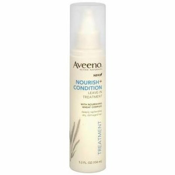 Aveeno Active Naturals Nourish + Condition Leave-In Hair Treatment Spray 5.2 fl oz(pack of 3)