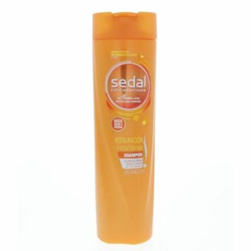 Sedal Instant Restoration Shampoo 340ml - Sedal Restauracion Champu 340ml (Pack of 2)