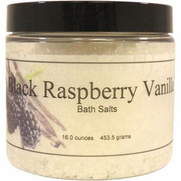 Black Raspberry Vanilla Bath Salts, 16 ounces
