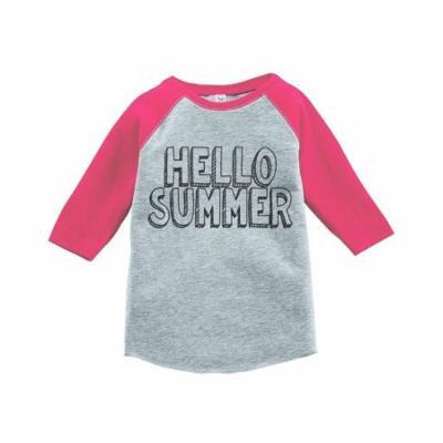 Custom Party Shop Hello Summer Raglan Tee - 4T