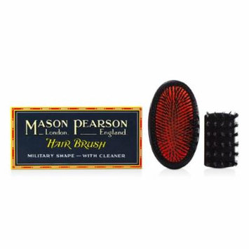 Mason Pearson - Boar Bristle - Small Extra Military Pure Bristle Medium Size Hair Brush (Dark Ruby) -1pc