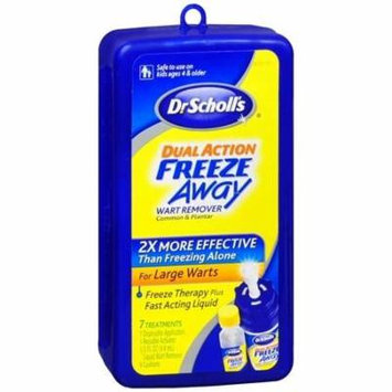 Dr. Scholl's Dual Action Freeze Away Wart Remover 1 kit(pack of 4)