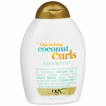 OGX Quenching Coconut Curls Shampoo 13.0 fl oz(pack of 4)