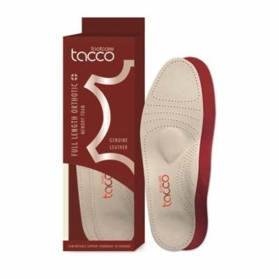 Tacco Plus 794 Full Length Orthotic Luxury Leather Foot Support, Men. Size 10