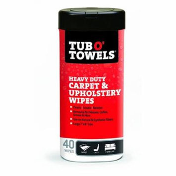 Federal Process 1595594 Tub O Towels Carpet & Uphlstry Wipess 40 Count
