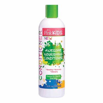 Lusters Pink Kids Awesome Nourishing Hair Conditioner, 12 Oz, 2 Pack
