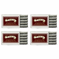 Colonel Ichabod Conk Trac II Razor Blades 10 ct. (Pack of 4) + 3 Count Eyebrow Trimmer