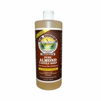 Dr. Woods HG0771931 32 fl oz Pure Castile Soap, Almond